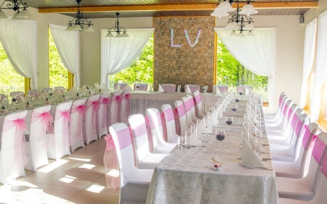 Pagrindinė vestuvių salė